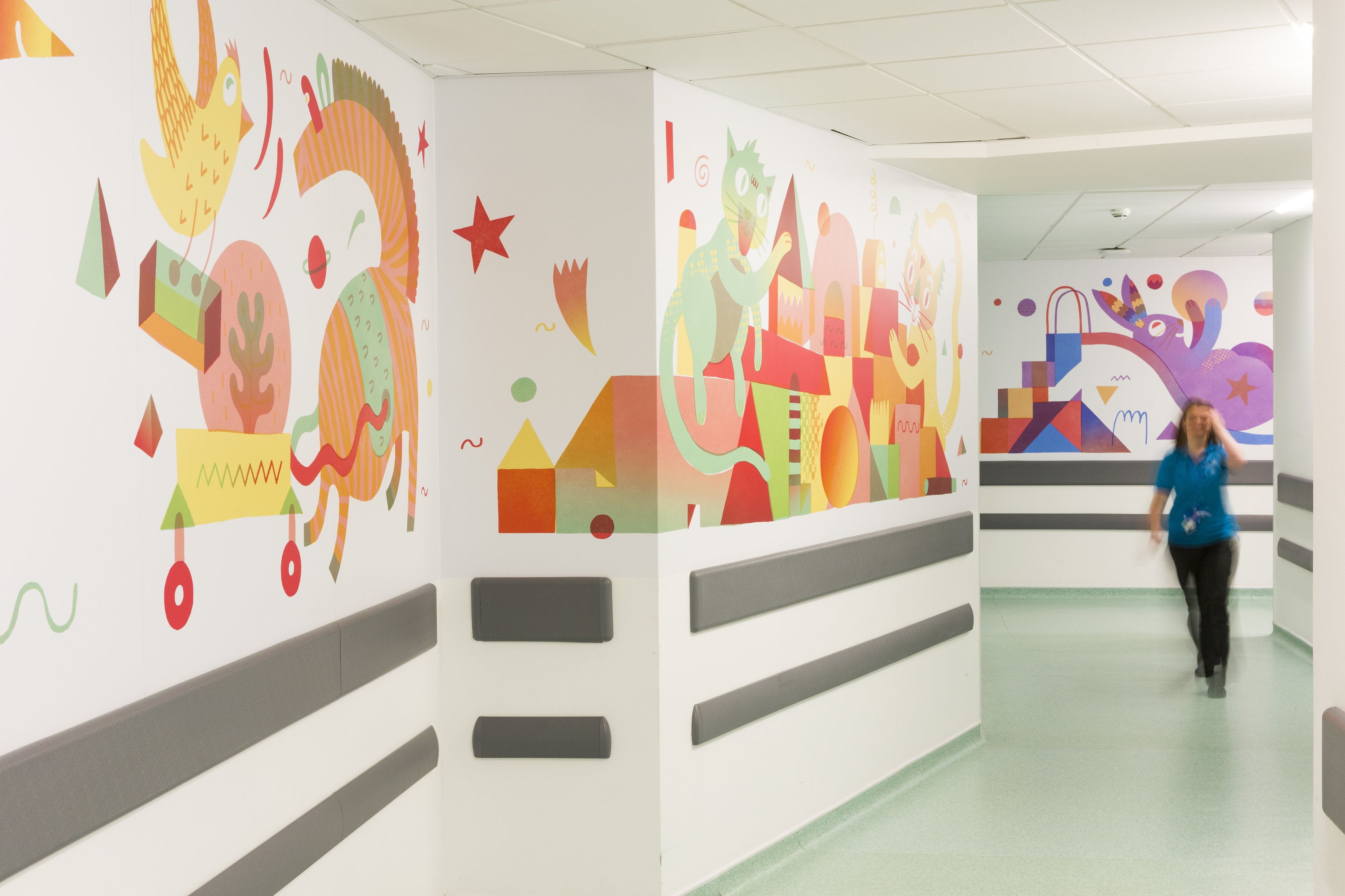Dave Bain paediatric artworks